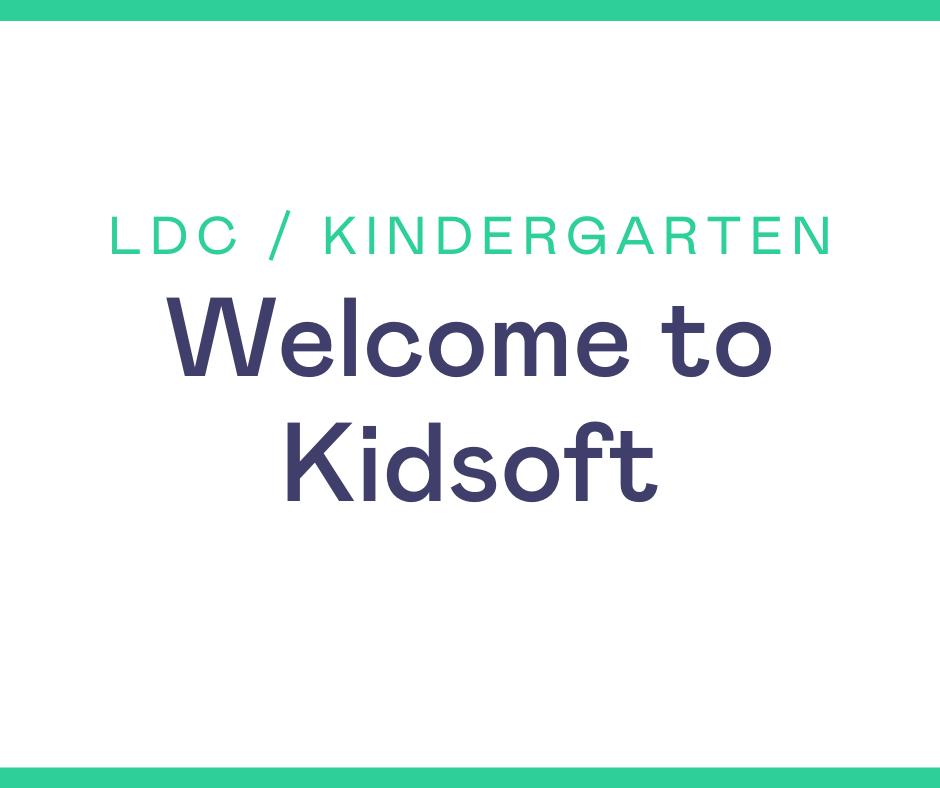 Webinar LDC Kindergarten
